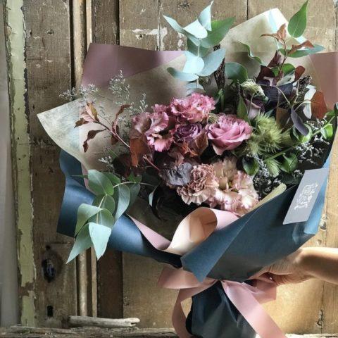 IMG_9 季節の花束-Antique Pink-